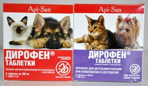 Уколы для котов от глистов
