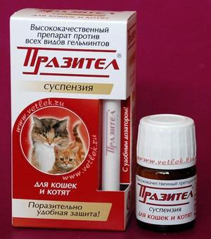препараты от глистов кошкам стоимость