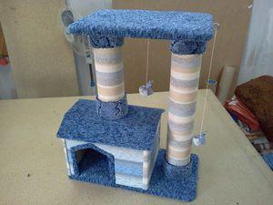 Как сделать домик и когтеточку