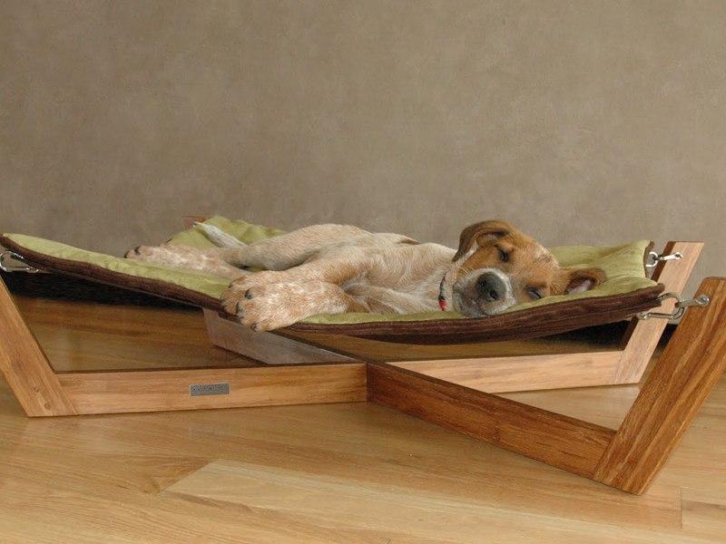 Описание возможных материалов из которых изготавливаются лежаки для собак
