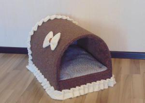 Своими руками домик для мелкой собаки