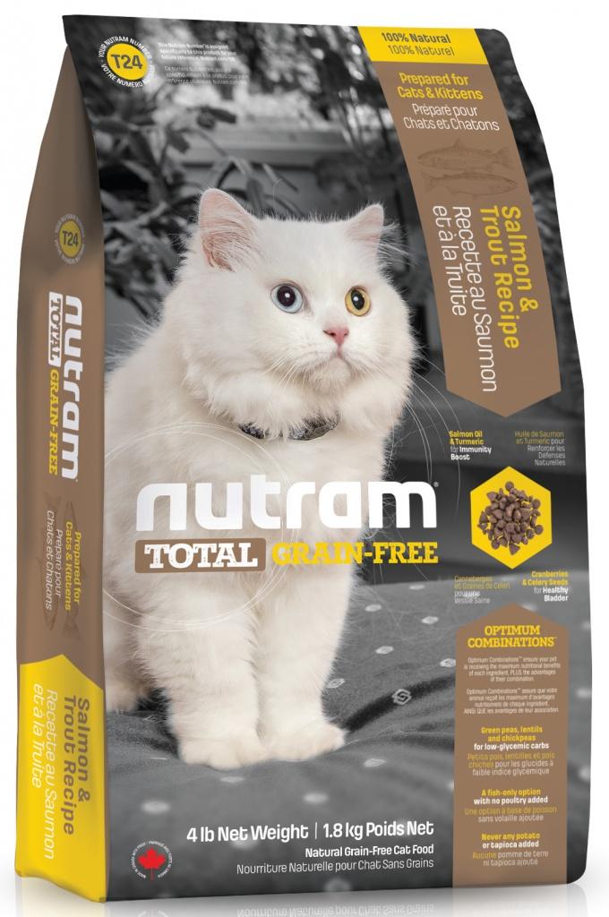 Кошачий корм Nutram Grain Free