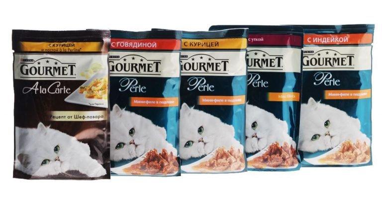Кошачий корм Gourmet