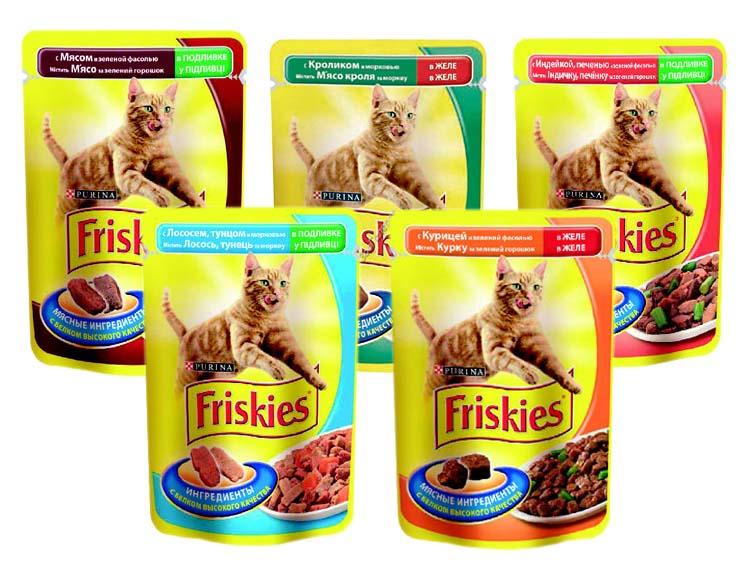 Кошачий корм Friskies