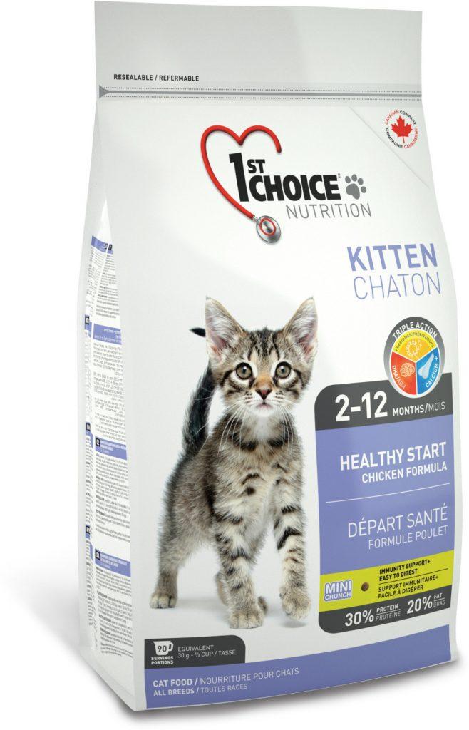 Кошачий корм 1st Choice Kitten