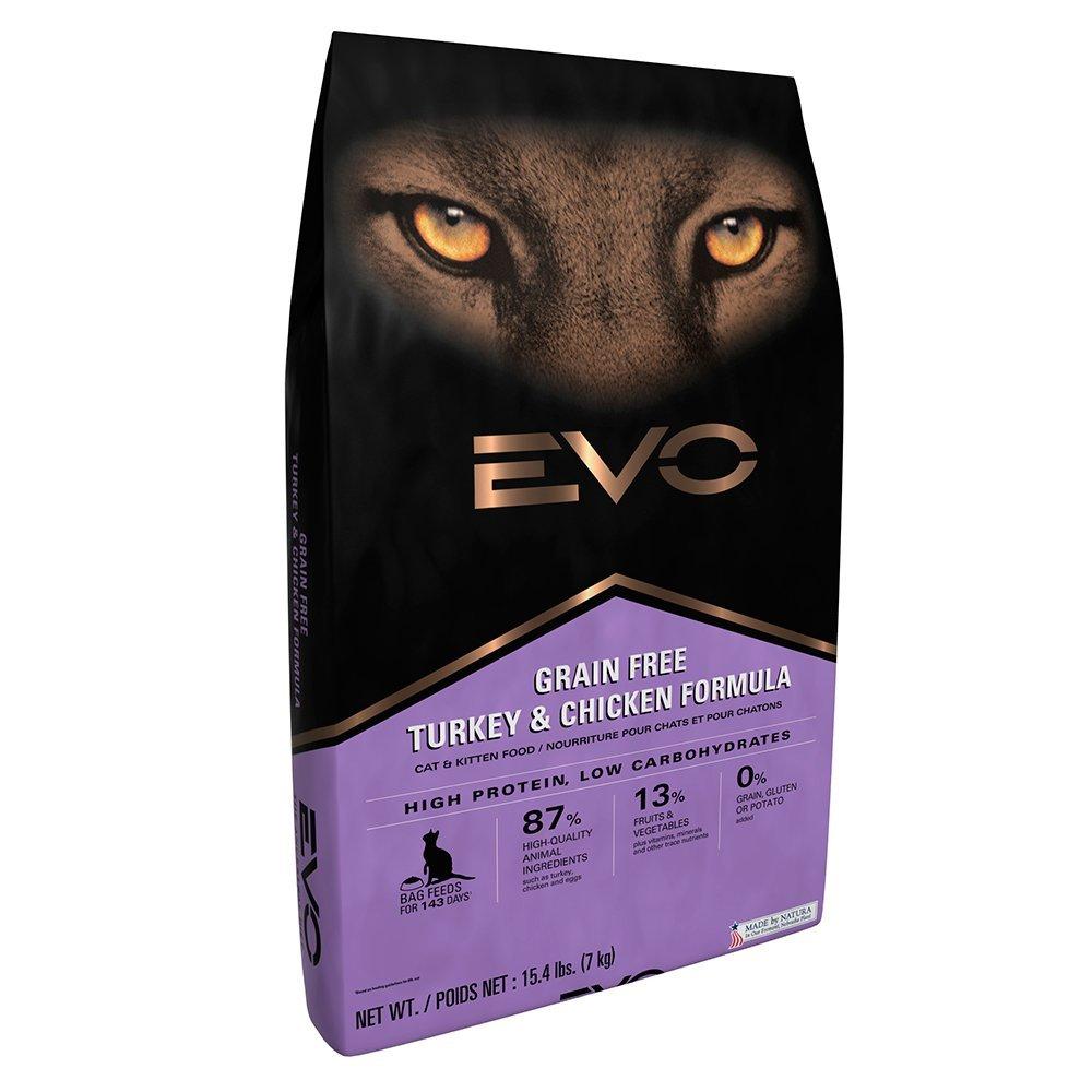 Кошачий корм Evo