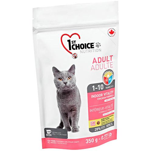 Кошачий корм 1st Choice Indoor Vitality for Adult Cats