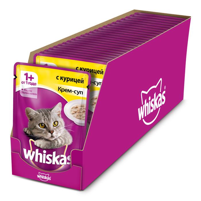 Кошачий корм Whiskas
