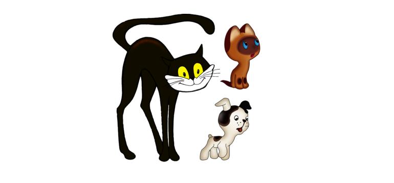 Интересные клички животных из книг и мультфильмов