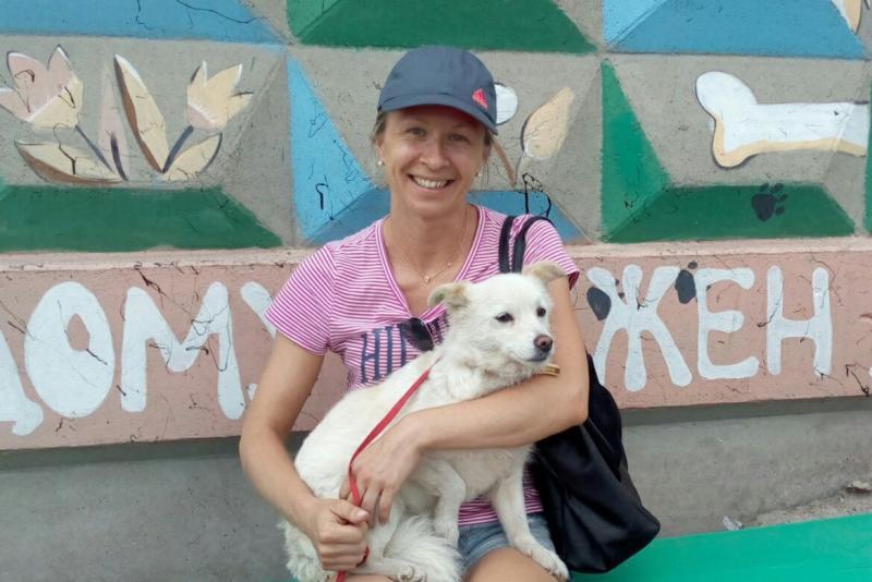 Счастливая собачья история: собака из приюта нашла свой дом в Америке