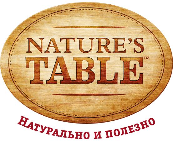 Натуральный и полезный корм Natures Table