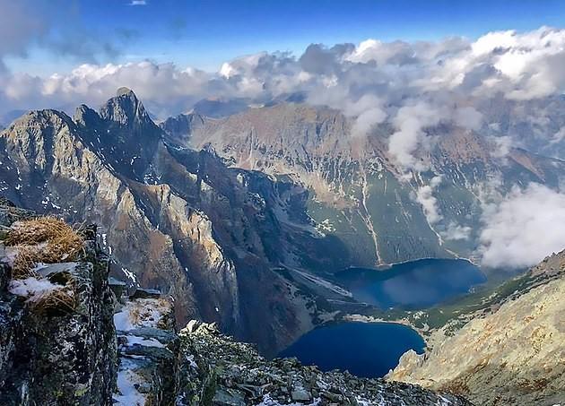 Вид с горы Рысы