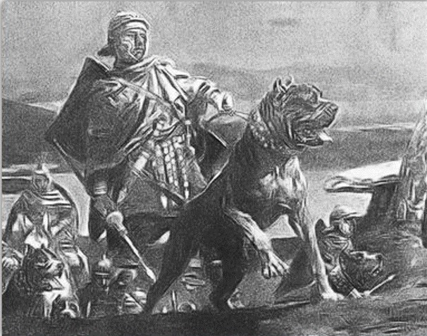 Александр Македонский с собакой