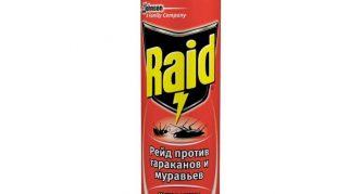 Средство от насекомых Raid