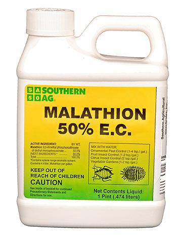 Малатион в канистре