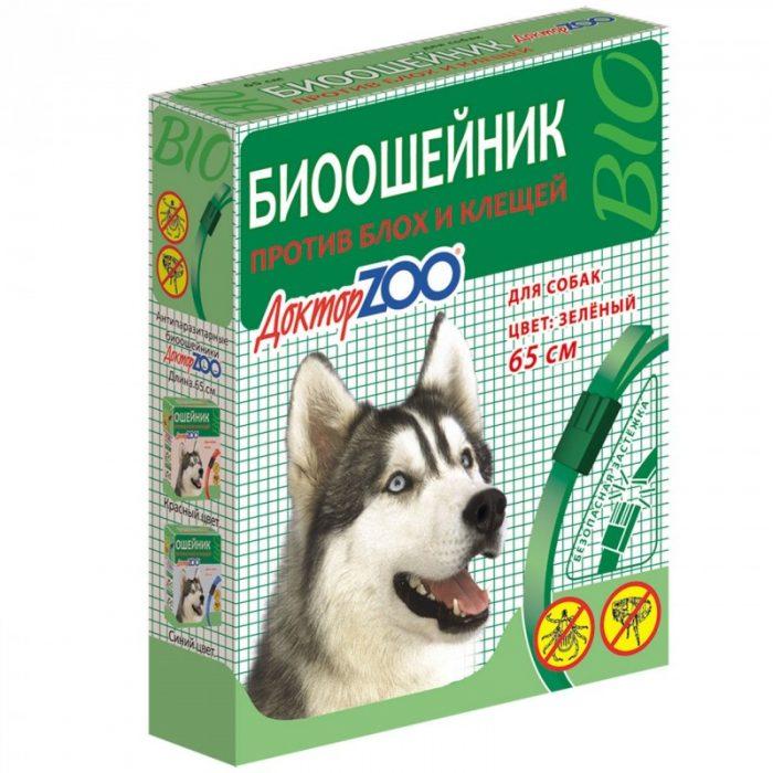 Биоошейник от блох для собак Доктор ZOO