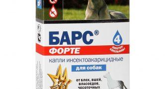 Барс Форте для собак