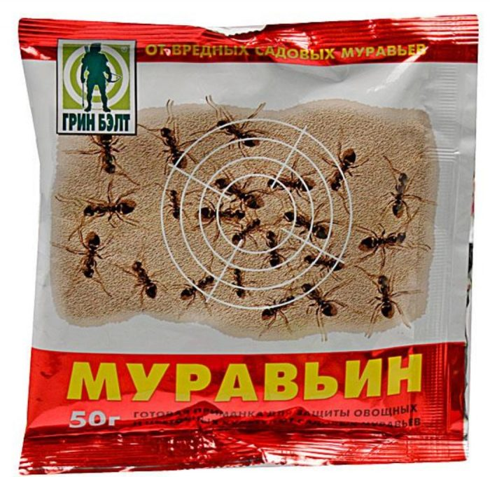 Средство от муравьёв Муравьин