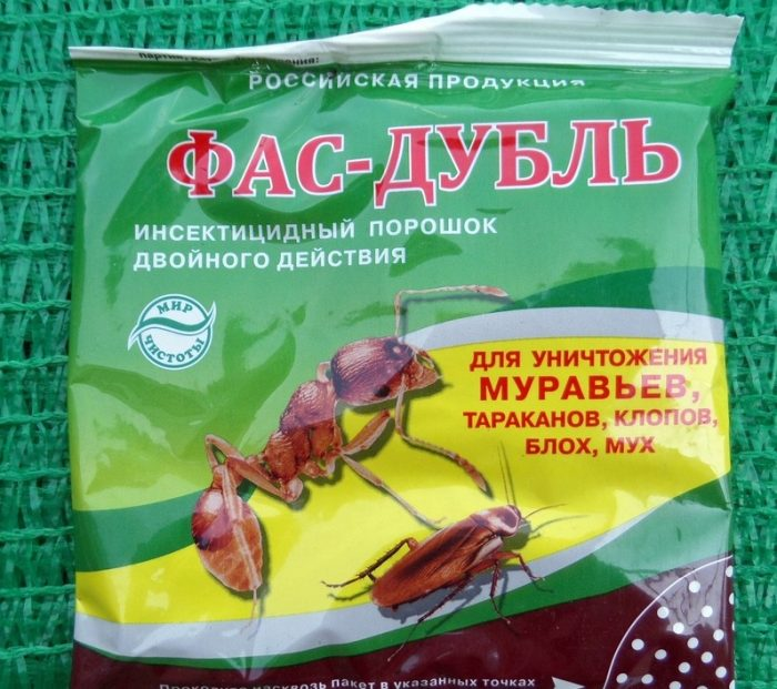 Порошок от муравьёв Фас-Дубль