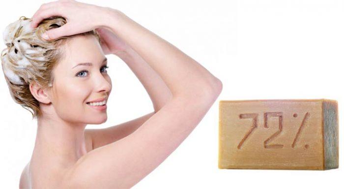 Мытьё волос хозяйственным мылом