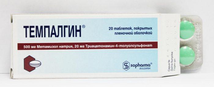 Таблетки Темпалгин
