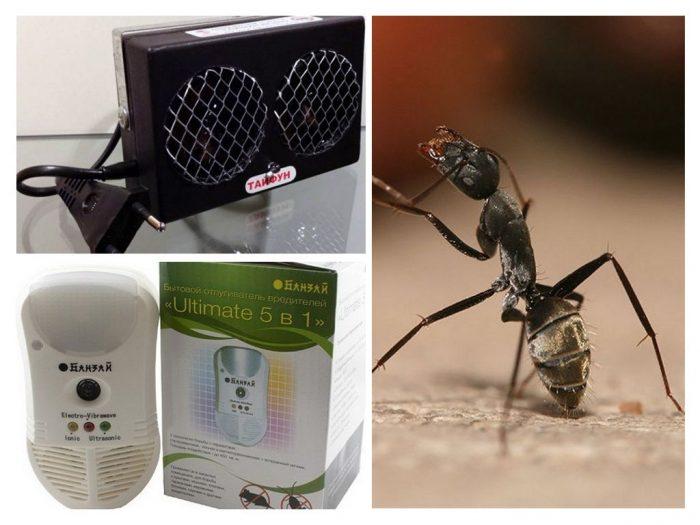 Ультразвуковые отпугиватели муравьёв