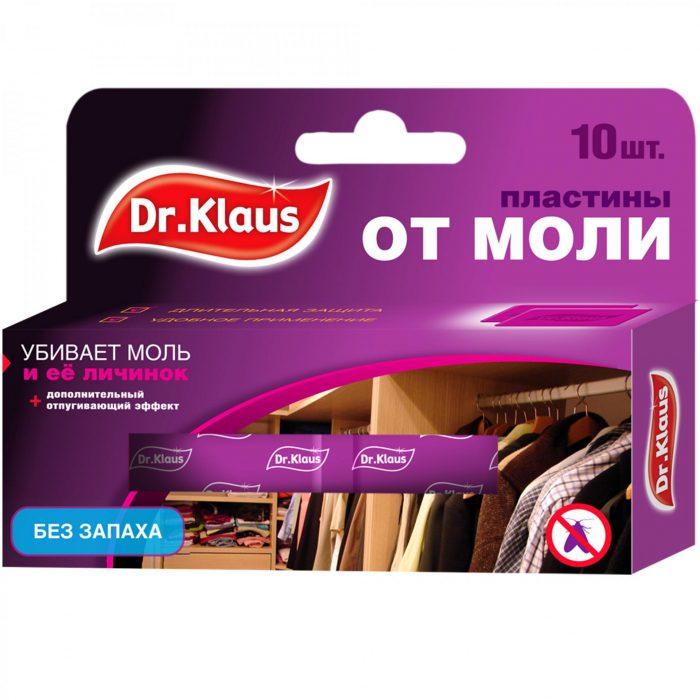 Пластины от моли Доктор Клаус