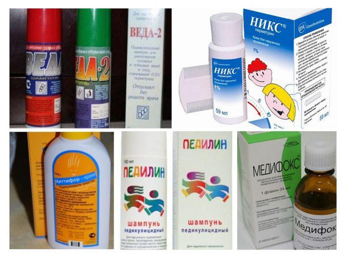 Пять препаратов от педикулёза