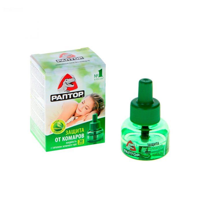 Жидкость с запахом зелёного чая