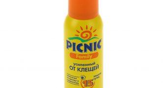 Средство от клещей Picnic Family Super