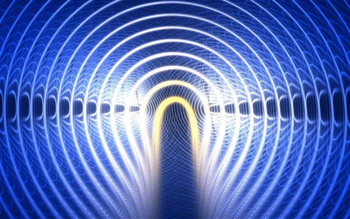 Спектрограмма излучения