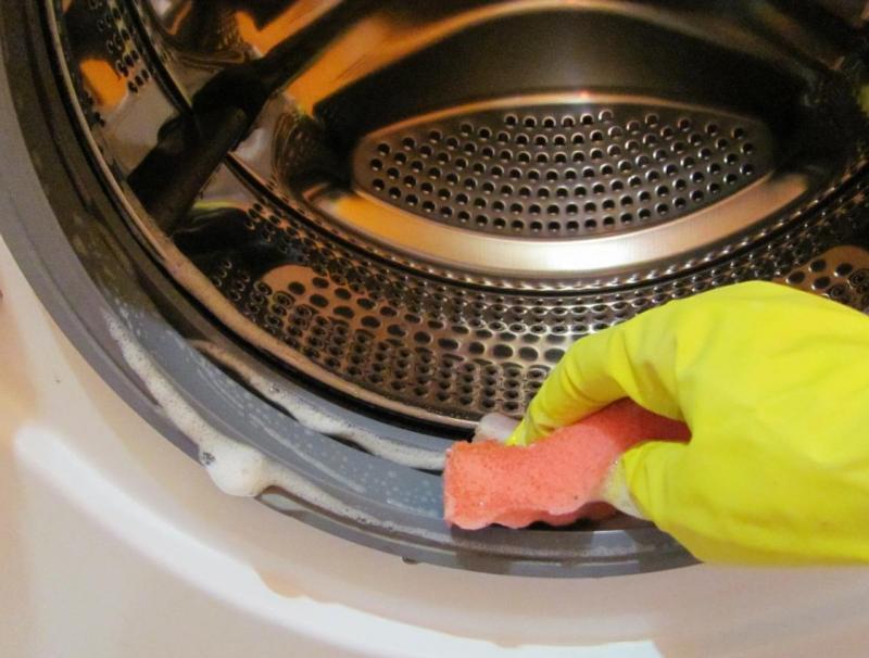 Как отчистить стиральную машину от плесени