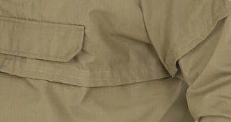 Швы и карманы на груди