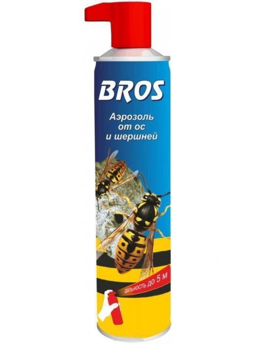 аэрозоль от ос и шершней Bros