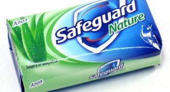 Антибактериальное мыло Safeguard