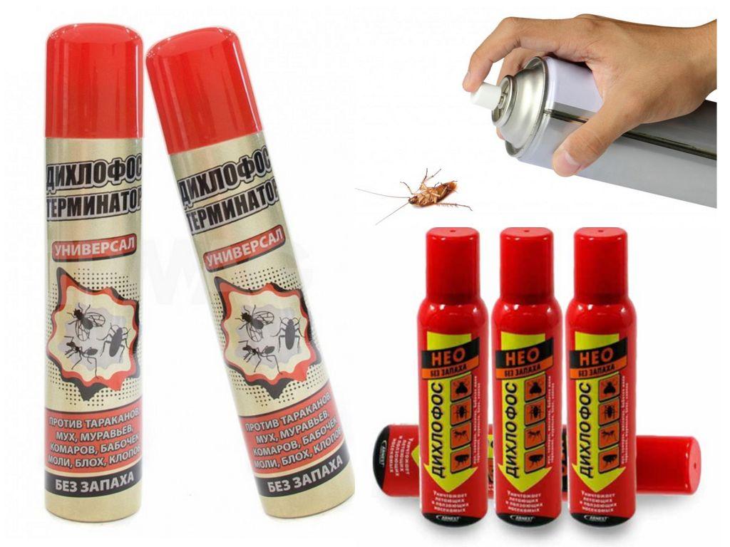 Дихлофос от тараканов: новое средство со старым именем