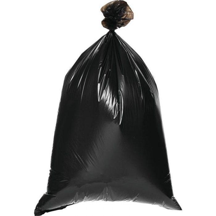 мусор в пакете