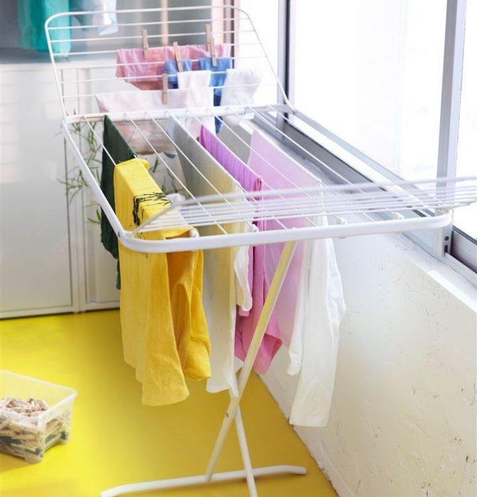 сушить белье на балко